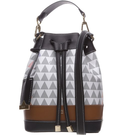 Bucket Bag Triangle Pearl