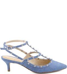 Scarpin Studs Summer Blue Jeans