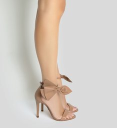 Sandália Maxi Bow Neutral