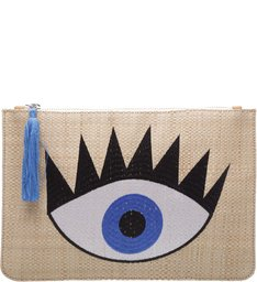Clutch Fun Eye Palha