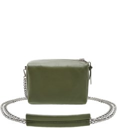 CROSSBODY DOUBLE SIDE NYLON GREEN