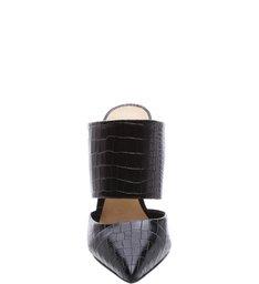 Mule Croco Black