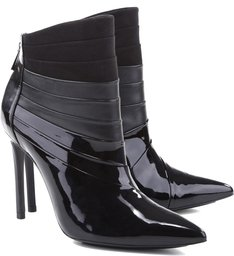 Bota Fetiche Draped Black