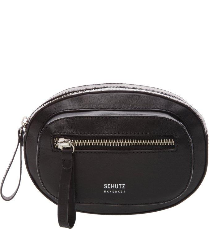 Belt Bag Leather Hardware Black