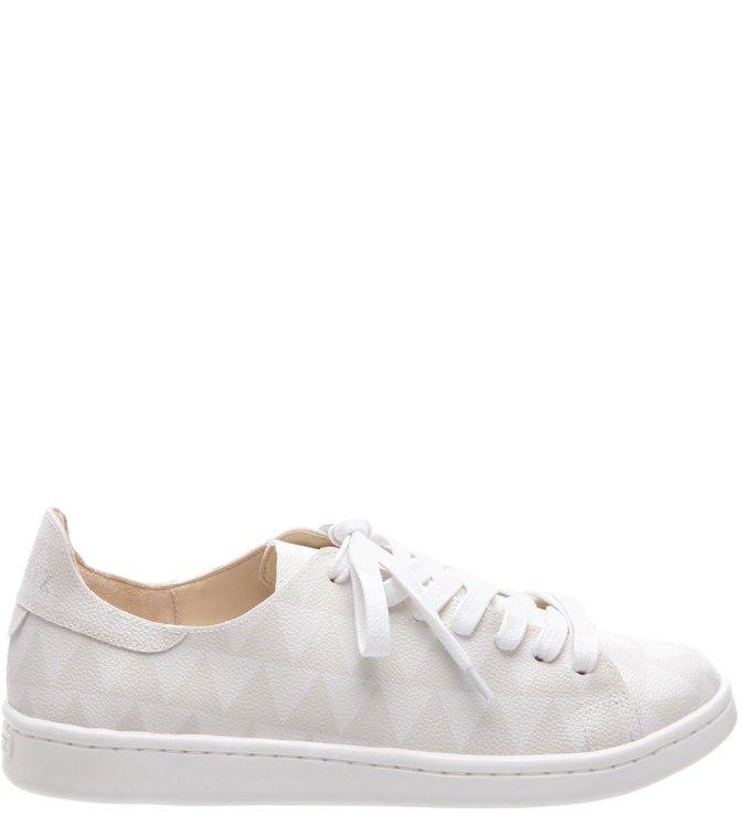 d6d9698f3ea Shoes Schutz Stamp - Tênis Triangle White