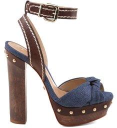 Sandália Meia Pata Jeans