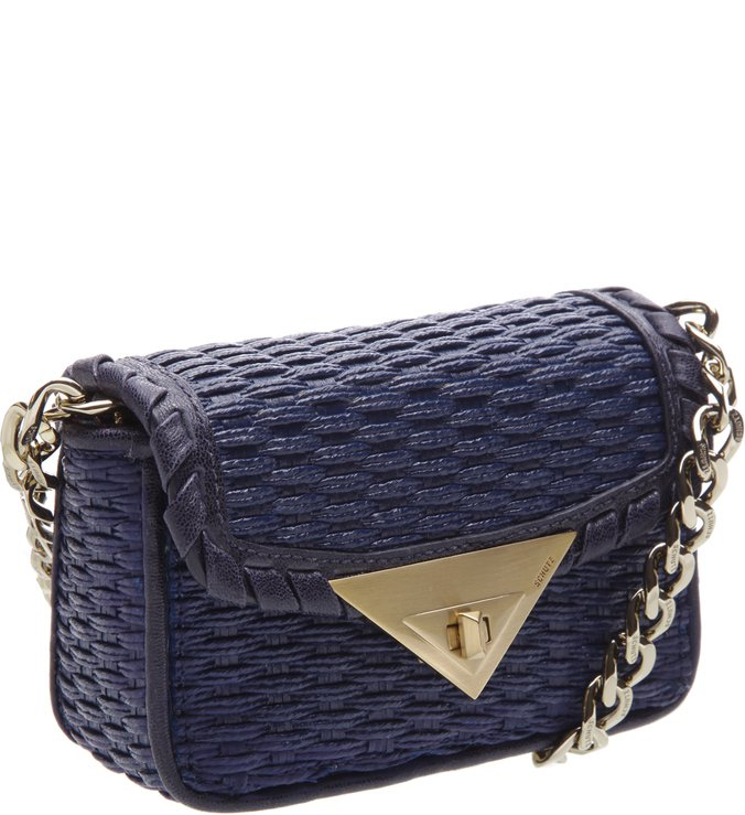 Mini Crossbody 944 Palha Deep Blue