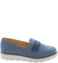 Mocassim Tratorado Light Blue