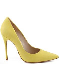 Scarpin Stiletto Vibrant Yellow