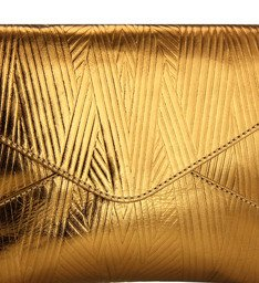 Clutch Art Deco Bronze