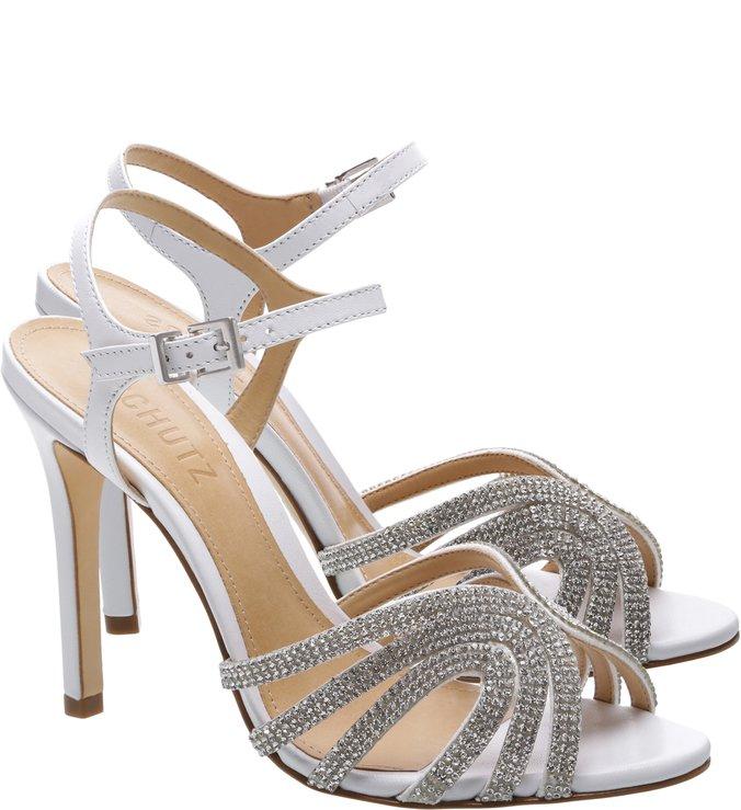 Sandália Salto White Diamond