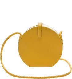 Crossbody Disco Bag Yellow