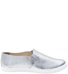 Slip On White Sole Prata