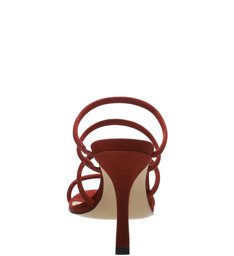 Mule Strings Nobuck Red