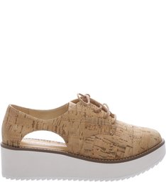 Oxford Flatform Cut Out Cortiça