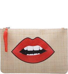 Clutch Fun Lips Palha