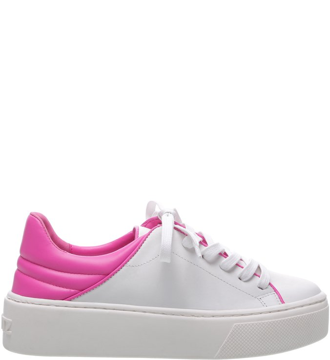 Tênis S-OXY White and Neon Pink