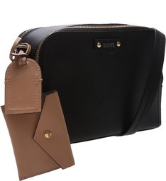 Crossbody Wallet Charm Laura Black