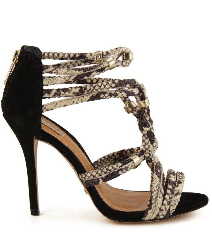 Sandália Snake Preta