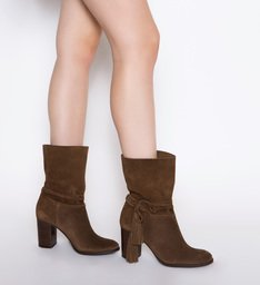 Bota Salto Grosso Boho Brown