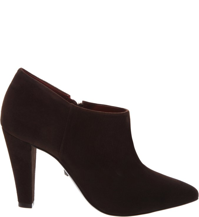 Ankle Boot Camurça Brown