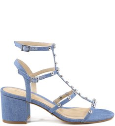 Sandália Studs Summer Blue Jeans
