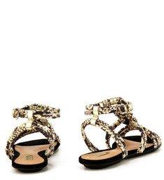 Sandália Rasteira Snake
