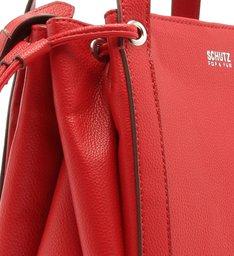 Mini Bucket Bag Crossbody Red