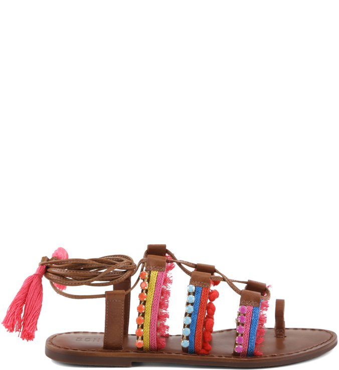 Flat Sandal New Boho Saddle