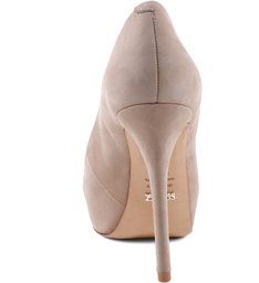 Peep Toe Glam Brush Sand