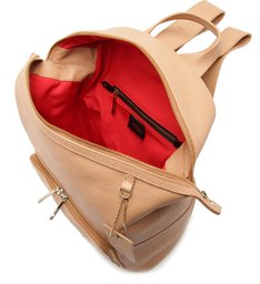 MOCHILA SLOUCHY MINIMAL HONEY