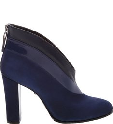 Ankle Boot Cava Camurça Blue