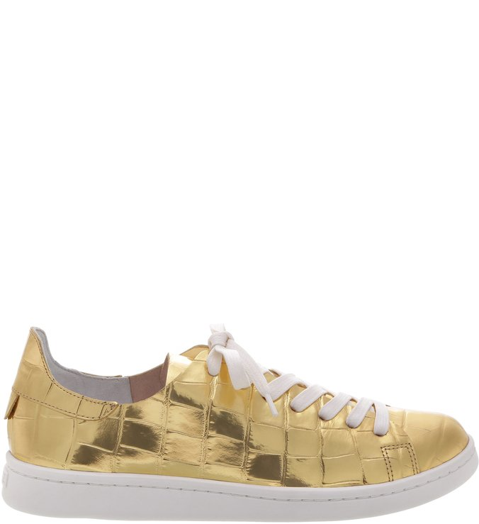 Tênis Ultralight S-Light Golden Croco | Schutz
