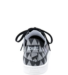 Shoes Schutz Stamp - Tênis Triangle Black