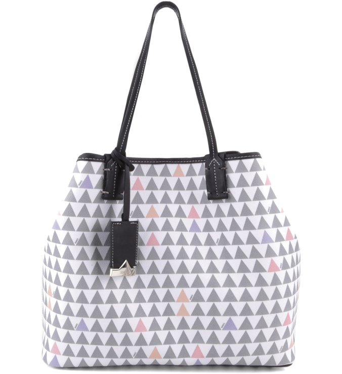 Shopping Bag Triangle Clear
