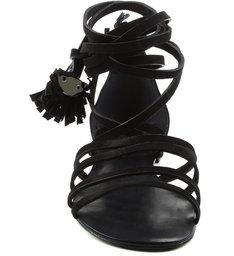 Rasteira Tassel Black