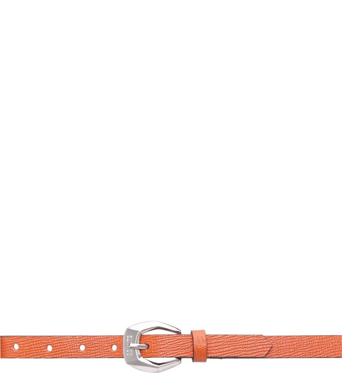 Thin Belt Bright Orange