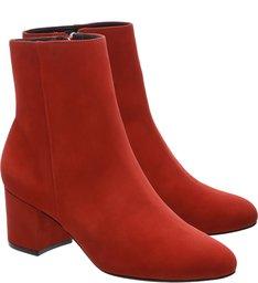 Bota Block Heel Scarlet