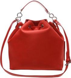 Bucket Bag Nylon Red