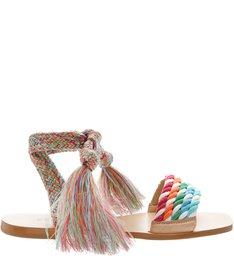 Sandália Rasteira Rope Colors