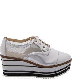 Oxford Flatform Strip Silver