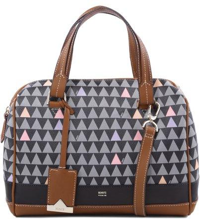 Bowling Triangle Black - Personalização Bag Charm
