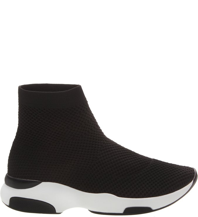 Sock Sneaker Knit Black