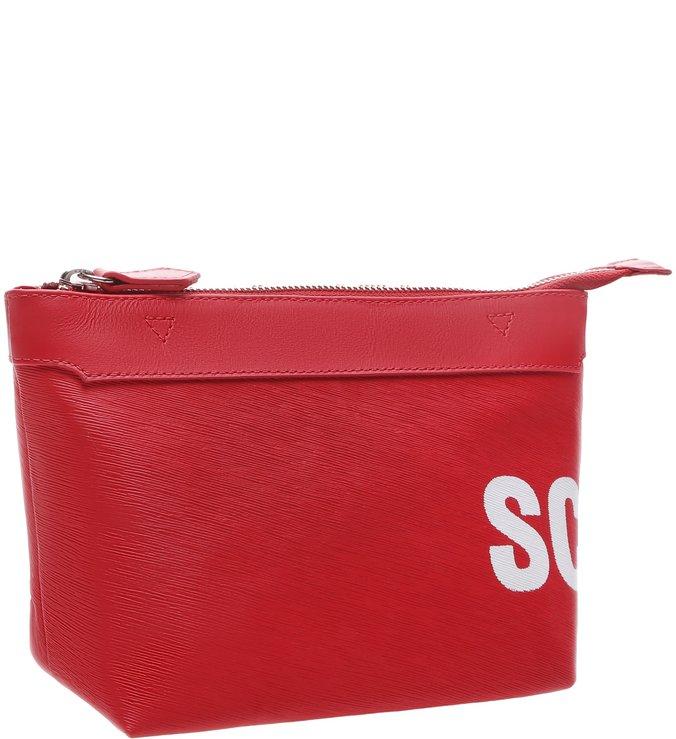 Nécessaire Bag Schutz Tag Red