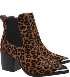 Chelsea Boots Animal Print