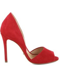 New Peep Toe Red