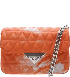 Mini Crossbody Bag Matelassê 944 Tie- Dye Orange