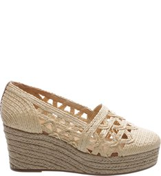 Espadrille Multi Tressê Natural Straw