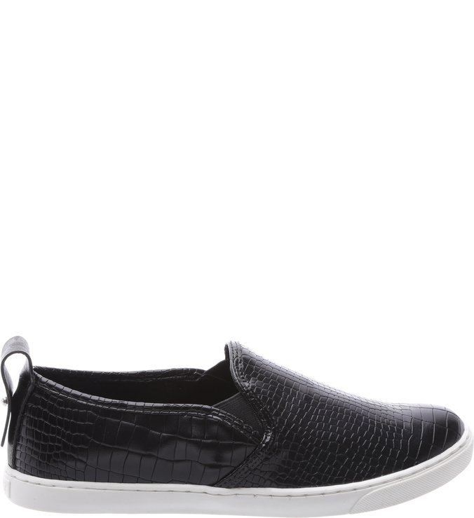 Slipon Croco Black