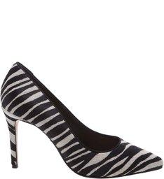 Scarpin Zebra Print